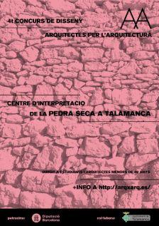 Concurs per al centre d'interpretació de la pedra seca